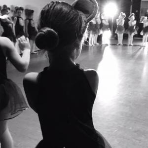 ballet back of head image